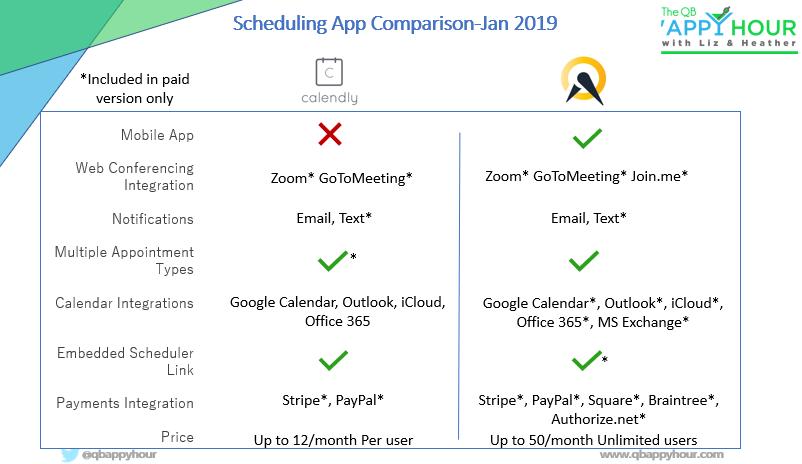 Calendar App side-by-side