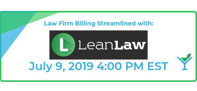 Niche Spotlight: Law Firms with Sponsor LeanLaw