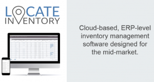 LOCATE inventory mangement software for the midmarket