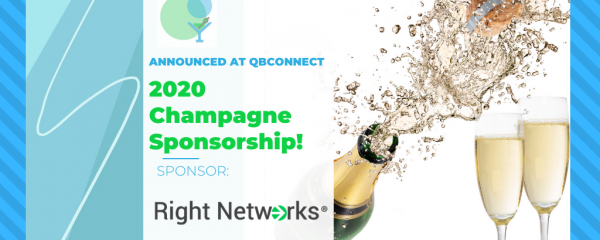 EPIC NEWS!!! CHAMPAGNE SPONSORSHIP IS RIGHT NETWORKS!
