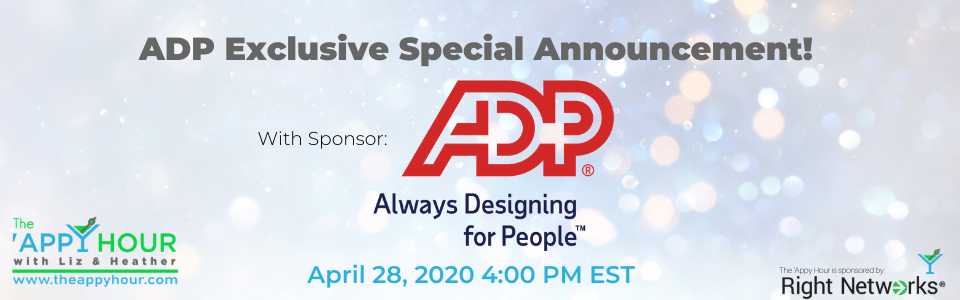 ADP Special Announcement
