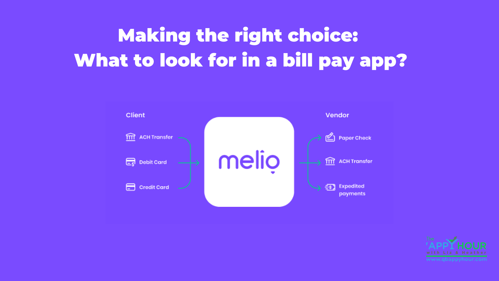 Making the right choice: what to look for in a bill pay app?